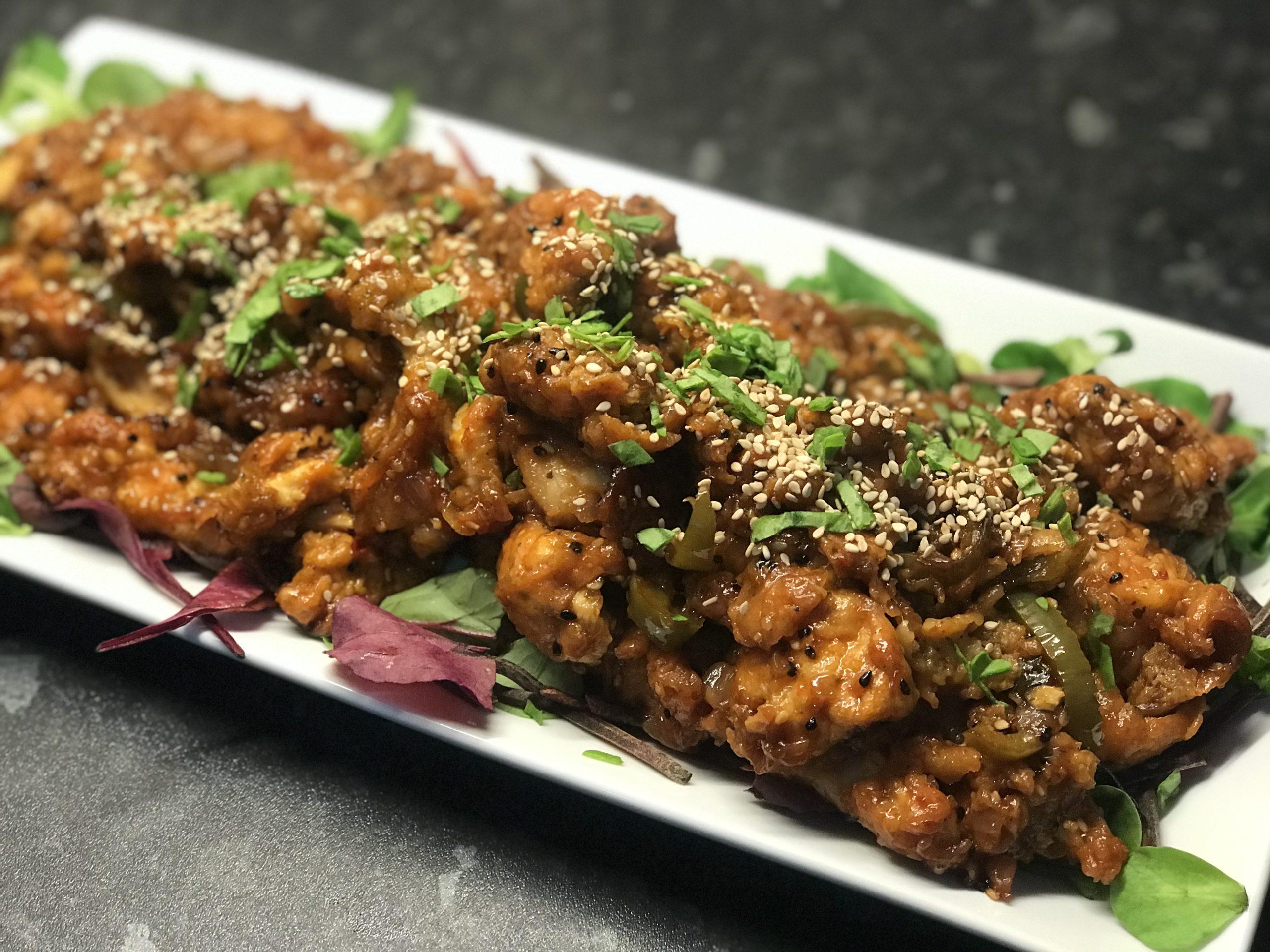 Indian Sweet Crispy Chilli Chicken Recipe